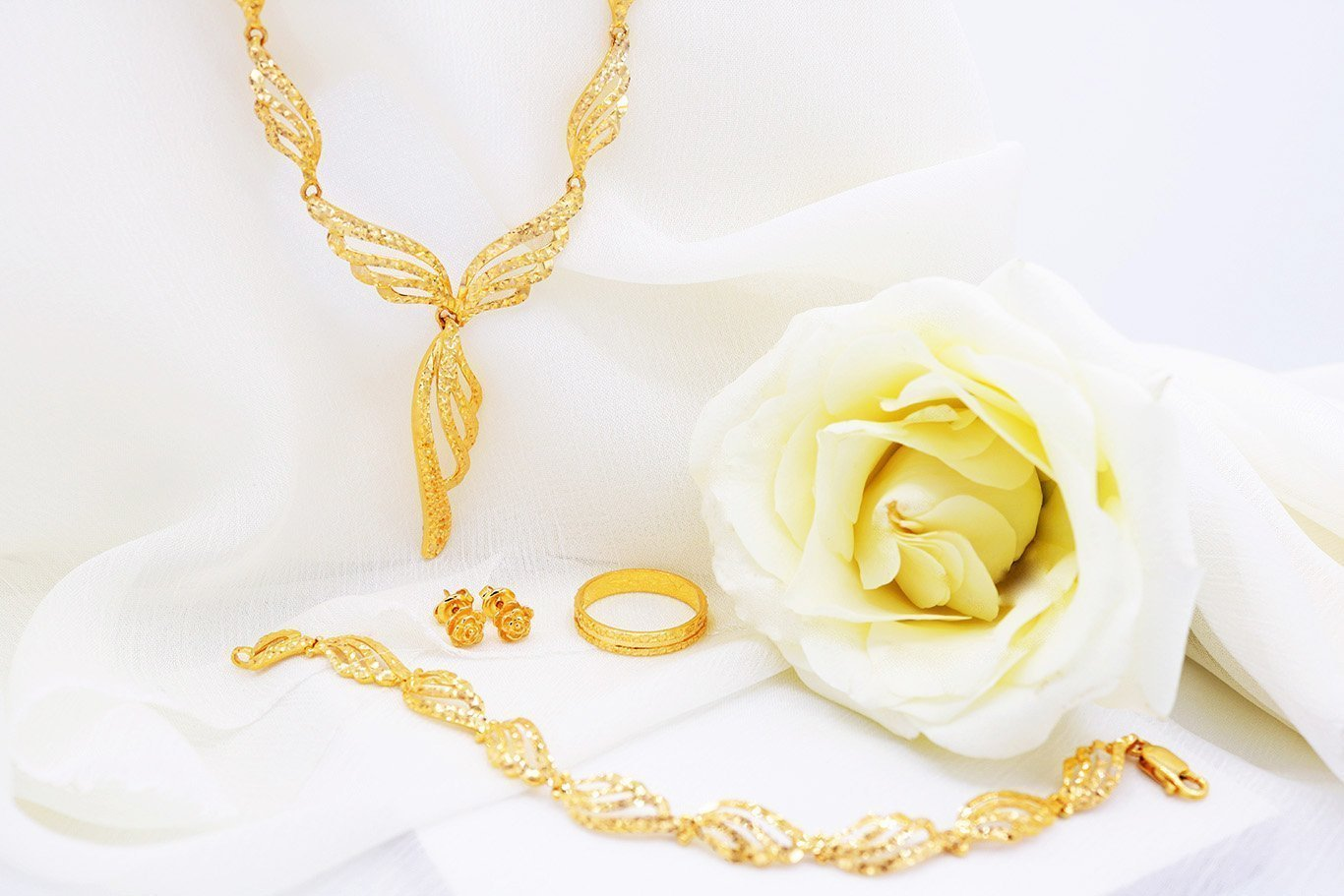 Quality 916 Gold Si Dian Jin set from Orient Jewellers Singapore