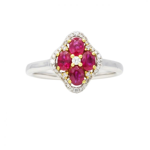 Orient Jewellers Ruby Ring YR3806 Square Final