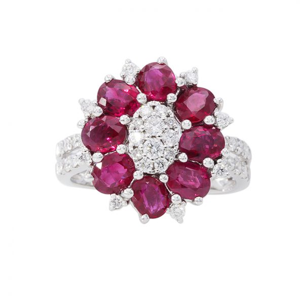 Orient Jewellers Ruby Ring YR3829