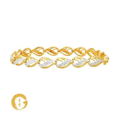 Teardrop Bracelet B4219S2C