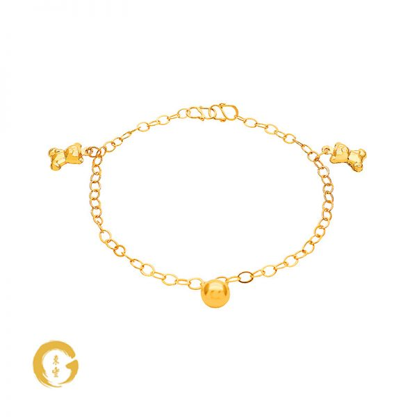 N002 NC12758 Orient Jewellers Baby Anklet