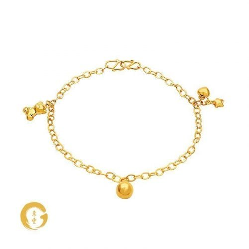 N002 NC12774 Orient Jewellers Baby Anklet