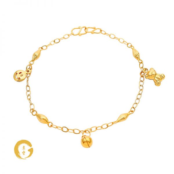 N003 NC12254 Orient Jewellers Baby Anklet