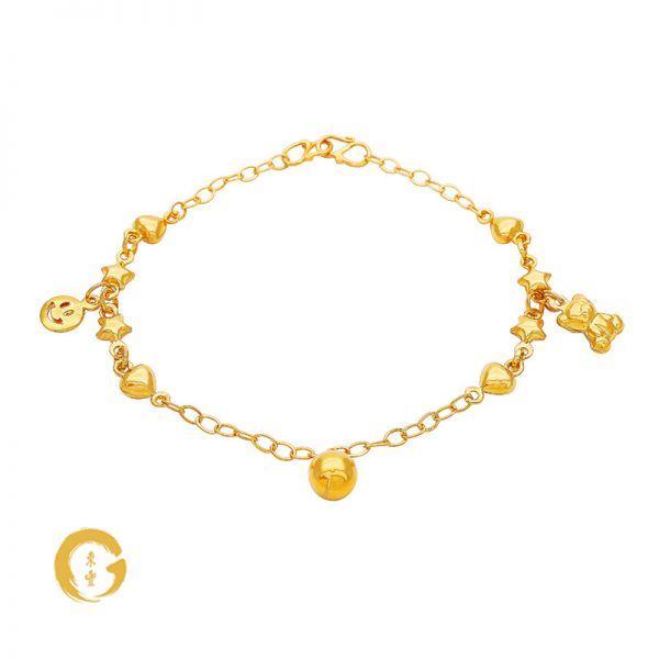 N003 NC12418 Orient Jewellers Baby Anklet
