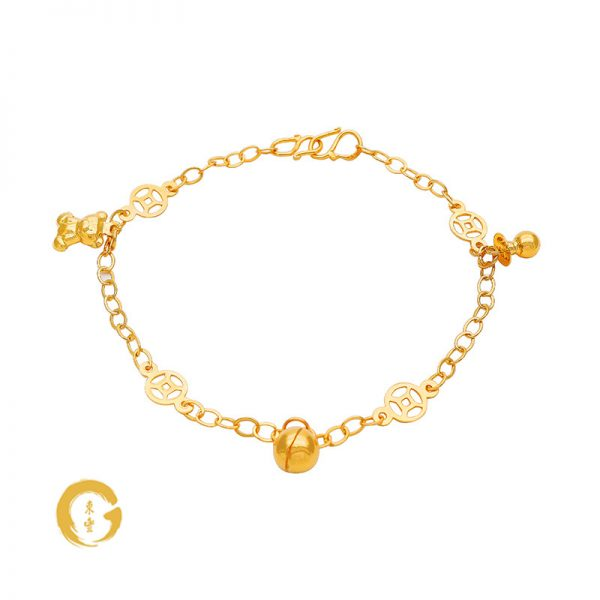 N003 NC12816 Orient Jewellers Baby Anklet