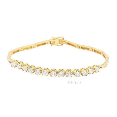 XL1795 Illusion Diamond Half Tennis Bracelet