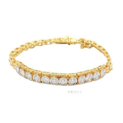 XL1797 Box Half Tennis Diamond Bracelet