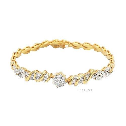 XL1809 Cluster Diamond Bracelet