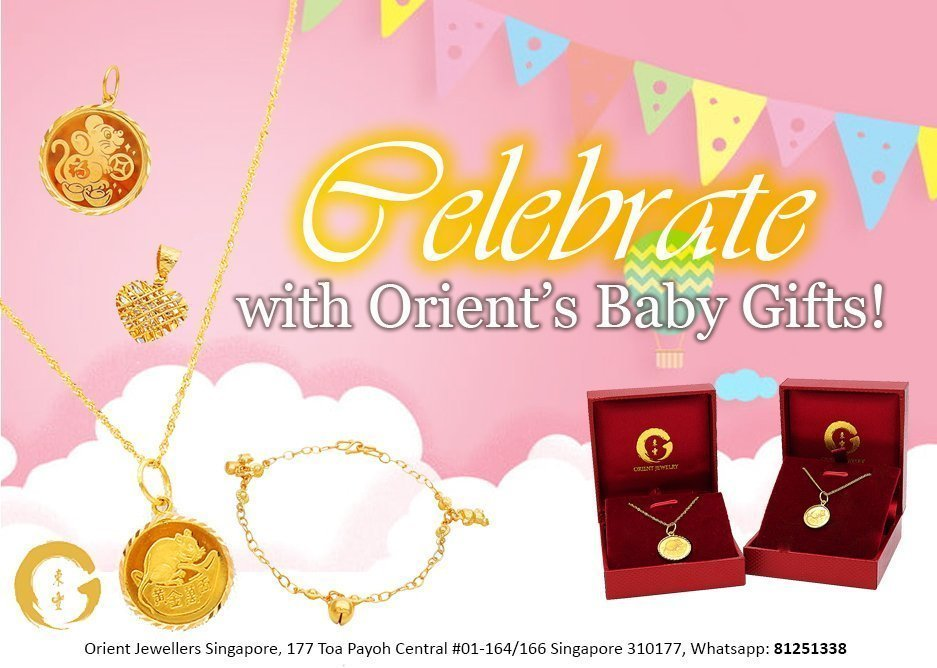 Orient Jewellers Baby Gifts
