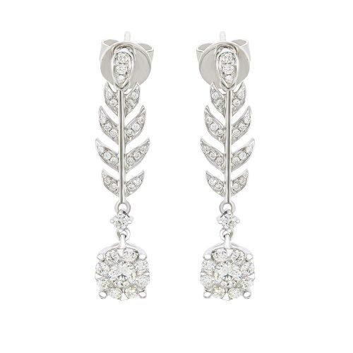 Dangling Foliage Earrings
